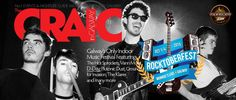The CRAIC with D-Day and Rocktoberfest - front cover in progress! 2015 Music, D Day, Night Life, Cover