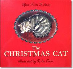 The Christmas Cat by Hefner Tudor Holmes  & illustrated by Tasha Tudor