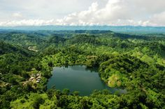 Boga Lake, Bandarban, Bangladesh (Boga Lake is the most beautiful natural lake in Bangladesh. It is also known as Bagakain Lake or Baga Lake.)