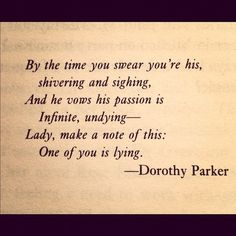 the flapper dorothy parker poem