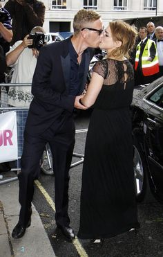 Billie Piper and Laurence Fox in 2010.