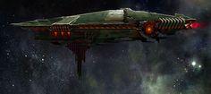 ArtStation - Alien Mothership, Simon Ko