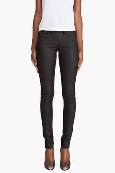 G Star Raw Leather Look Legging | These Leggings are absolutely perfect (and what a relief, not another skinny!).  It has a side zip which makes the front look nice and flat.