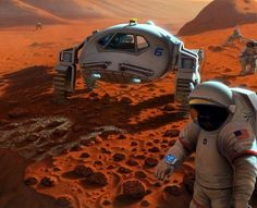 Is A Mysterious Millionaire Planning A Manned Mission To Mars And Back?