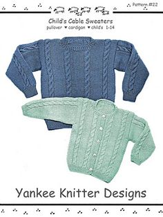 85977103e54e A simple and classic allover cable sweater is always in style. This pattern  includes the easy instructions for BOTH the pullover and cardigan sweaters  in ...