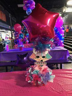 5th Birthday Party Ideas, Cute Birthday Gift, Girl Birthday, Surprise Birthday, Party Themes, Barbie Party, Doll Party, Lila Baby, Lol Dolls