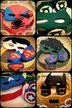Lembrancinhas inspiradas nos Super Heróis! Ou Vingadores!