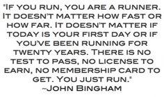 Even if you run like a girl.