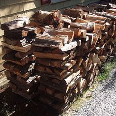 How to Cut and Split Firewood