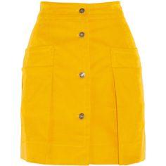 Faith Connexion Annabelle Dexter-Jones stretch-cotton corduroy skirt ($300) ❤ liked on Polyvore