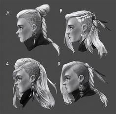 INSPIRATION: Viking Hairstyles