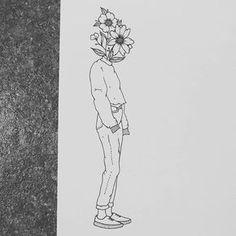 Sick Drawings, Unique Drawings, Dark Art Drawings, Colorful Drawings, Drawing Sketches, Arte Inspo, Kunst Inspo, Doodle Art, Art Hoe