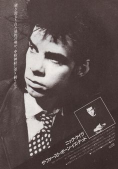 Red Right Hand, Poster Boys, Rock News, The Bad Seed, Nick Cave, Billy Idol, Gothic Rock, Some People Say, Pop Bands