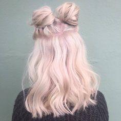 awesome Оригинальные розовые волосы (50 фото) — Стильное окрашивание 2017