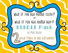 Are you doing an author study on Sandra Markle? Do you and your students simply enjoy her books?  Check out this bundle pack to get two great activity packets!'What If You Had Animal Teeth!?' activities include:- Animal Teeth Craftivity: Create yourself as one of the animals featured in the story - what would you look like with animal teeth!?- Animal Teeth Mini-Book: Show what you know about the animals featured in the book.- How I Brush My Teeth Craftivity:  Sequence the steps of brushing…
