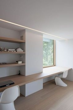 Small Home Office Design Home Office Space, Home Office Design, Home Office Decor, Home Decor, Office Designs, Small Office, Office Den, Apartment Office, Design Desk