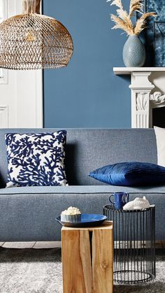 Ski Chalet, Scandinavian Living, Photo Wall, Living Room, Bedroom, Interior, Blue, Home Decor, Throw Pillows