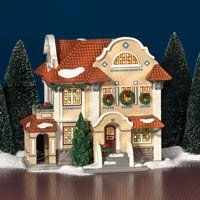 Department 56 Dept 56 Snow Village Mission Style House New in Box Department 56 Christmas Village, Dept 56 Snow Village, Santa's Village, Christmas Village Houses, Christmas Village Display, Christmas Villages, Christmas Fonts, Christmas Scenes, Christmas Home