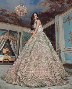 Un Beau Reve - Contemporary Couture - Bridal Couture Pakistani Engagement Dresses, Engagement Dress For Bride, Asian Wedding Dress, Indian Bridal Outfits, Pakistani Wedding Outfits, Pakistani Bridal Dresses, Indian Bridal Wear, Pakistani Wedding Dresses, Perfect Wedding Dress