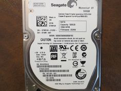 Seagate ST500LX003 1AC15G-031 FW:DEM4 WU 500gb Sata - Effective Electronics #datarecovery #harddriverepair #computerrepair #harddrives #harddriveparts #seagate