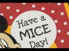 """CARDZ TV: """"HAVE A MICE DAY!"""" BIRTHDAY CARD"""