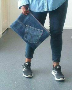 Modelos de bolsas feitas de jeans muito top