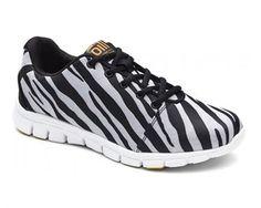 Oill sneakers, zebra - Anton Girl Shoe zebra zebra - NETSKO - Sko-Børnesko-Damesko-Sandaler-Sommersandaler-Forårssko-Børnesandaler