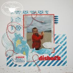 Yvonne's Stampin' & Scrap Blog: Stampin' Up! Lay-out Dishoek