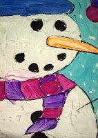 Art created by students in and little bits into the life of an art teacher! Winter Crafts For Kids, Art For Kids, Kids Crafts, Snow Much Fun, Art Lessons Elementary, Snowman Crafts, Winter Art, Paint Party, Craft Activities