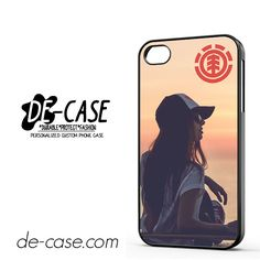 Element Skateboard Girl DEAL-3854 Apple Phonecase Cover For Iphone 4 / Iphone 4S