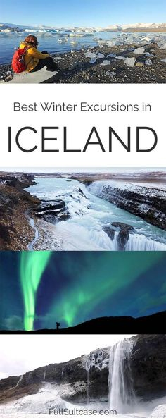 Best Iceland winter tours, excursions and day trips from Reykjavik #Iceland #winter #trip
