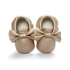 Bow Tie Moccasins