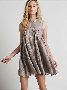 Free People Tu-es-la Mini Dress, $128.00