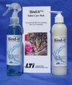 Has your cat been treated for hyperthyroidism with radiation? The Bind-It Feline Care Pack helps you keep the rest of your family safe from that radiation when kitty comes home! $54.95