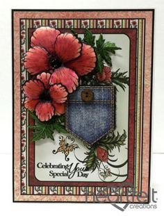 Heartfelt Creations   Pocket Full Of Poppies