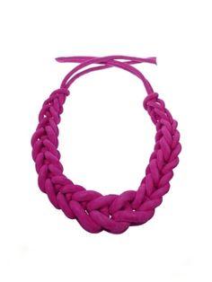 NATALIA BRILLI, BERENICE: #leather #necklace. #natalia_brilli #jewelry, of course. $618 by sally tb