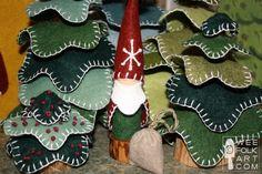 Santa Peg Gnome | Wee Folk Art