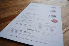 Norway Inn Stacked Menus  #menus #stacked #set #norwayinn #cornwall #restaurant #dessert #cheese #mains #wine