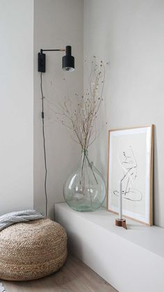 Scandinavian Living, Home Living Room, Decoration, Interior Inspiration, Architecture Design, Sweet Home, New Homes, Interior Design, Home Decor