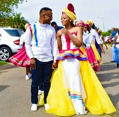 You do things… Pedi Traditional Attire, Sepedi Traditional Dresses, African Traditional Wedding Dress, African Wedding Dress, Wedding Dress Train, Traditional Weddings, African Attire For Men, African Wear, African Dress