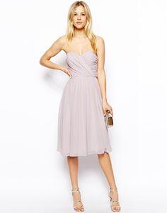 Enlarge ASOS Bandeau Dress In Midi Length BRIDESMAID ATTIRE