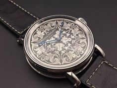 Antique High Grade Patek Philippe & Co Geneva Men's Stainless Steel Watch