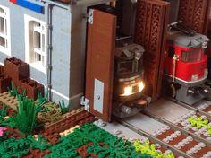 Lego Lokschuppen