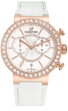 Citra Sphere Chrono White Rose Gold Tone Watch $ 540.00