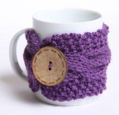 knitted mug cozy
