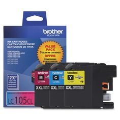 Brother LC1053PKS Ink Cartridge, 1200 Yield
