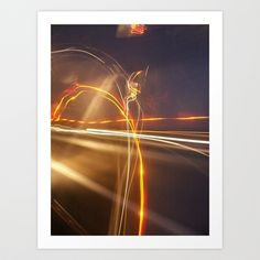 london lights Art Print by countryeverafter - $15.00
