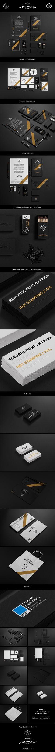 Stationery / Branding / Identity Mock-up on Behance