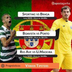 Grande jornada da Liga NOS na tarde deste domingo. Confiram os prognósticos dos tipsters ApostaGanha:  http://www.apostaganha.com/2016/01/10/prognostico-apostas-sporting-vs-braga-liga-nos-7254123/  http://www.apostaganha.com/2016/01/10/prognostico-apostas-sporting-vs-braga-liga-nos-96632/  http://www.apostaganha.com/2016/01/10/prognostico-apostas-boavista-vs-porto-liga-nos-73543/  http://www.apostaganha.com/2016/01/10/prognostico-apostas-rio-ave-vs-u-madeira-liga-nos-73654…