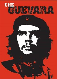 Red Che Guevara Poster Art Print: Che Guevara - Red, Political Poster Print, 24 by 36 Wall Poster, Room Posters, Poster Prints, Art Prints, Che Guevara Images, Che Guevara Quotes, Cuba, Ernesto Che Guevara, Propaganda Art